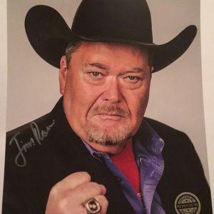 Jim Ross Autographed 8x10